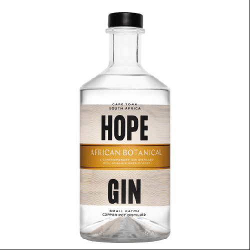 Hope on Hopkins African Botanical Gin 750ml