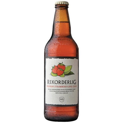 Rekorderlig Cider Strawberry & Lime 500ml