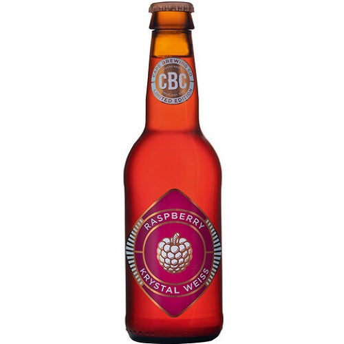 CBC Raspberry Crystal Weiss 340ml
