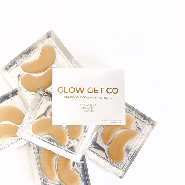 24K Gold & Collagen Crystal Eye Masks
