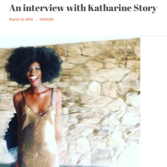 An Interview with Katharine Story