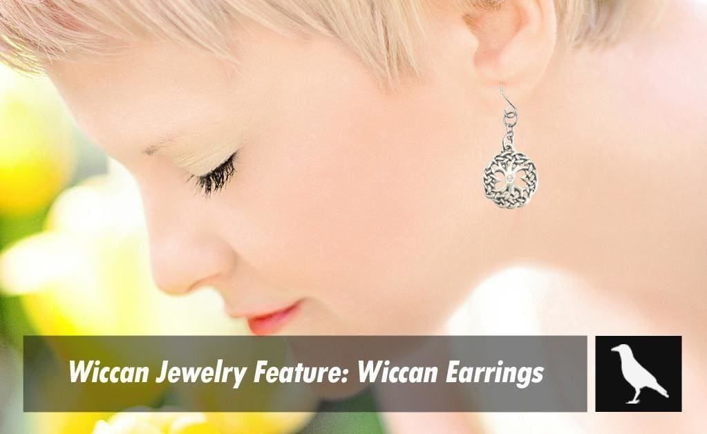 Wiccan Jewelry Feature: Wiccan Earrings