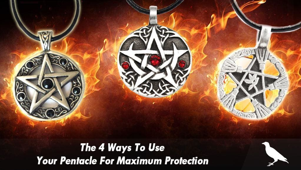 The 4 Ways To Use Your Pentacle For Maximum Protection