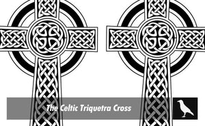 The Celtic Triquetra Cross