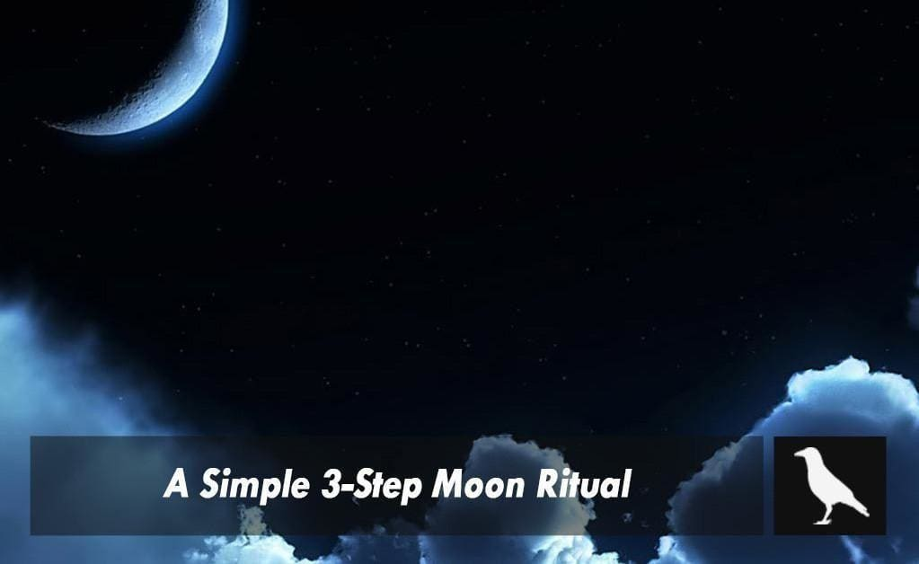 A simple 3-step moon ritual you can start using tonight!