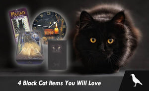 4 Black Cat Items You Will Love