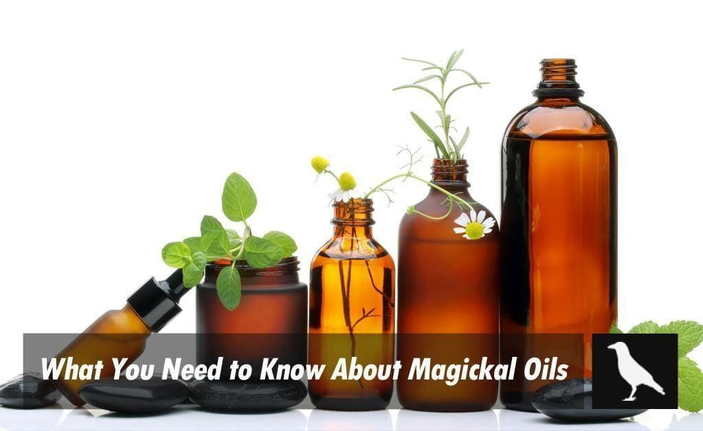 What You Need To Know About Magickal Oils - The Moonlight Shop