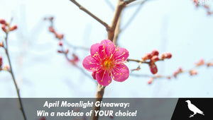 April Moonlight Giveaway: Win a necklace of YOUR choice!