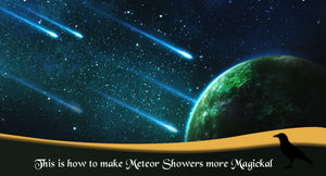 This Is How To Make Meteor Showers More Magickal