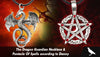 The Dragon Guardian Necklace & Pentacle Of Spells according to Danny