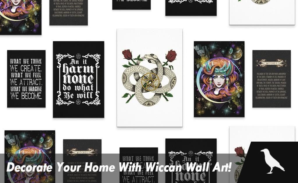 Decorate Your Home With Wiccan Wall Art