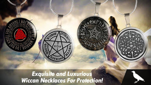 Exquisite and Luxurious Wiccan Necklaces For Protection!