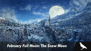 February Full Moon: The Snow Moon