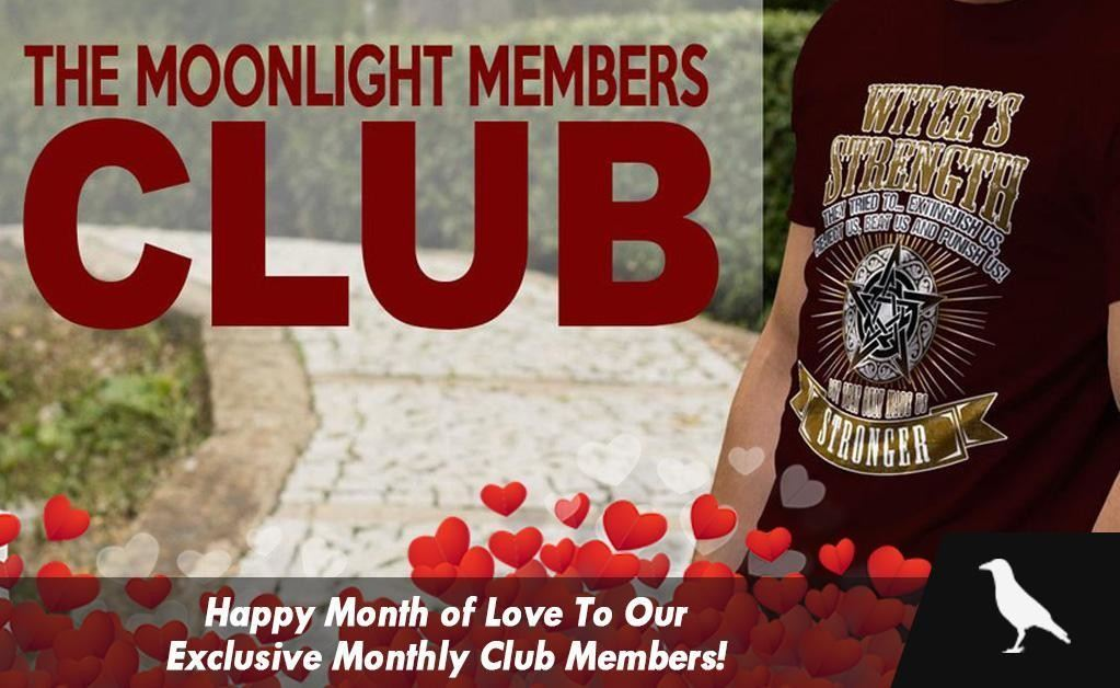 Happy Month of Love To Our Exclusive Monthly Club Members!