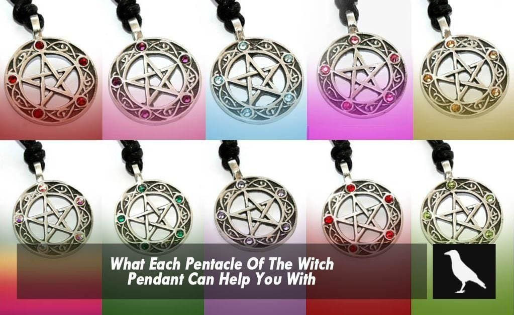 What Each Pentacle Of The Witch Pendant Can Help You With