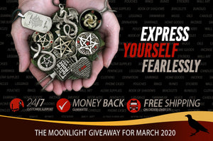 The Moonlight Giveaway March 2020