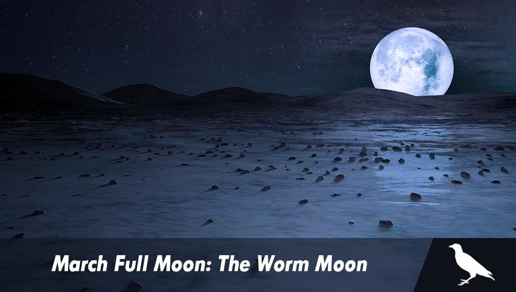March Full Moon: The Worm Moon
