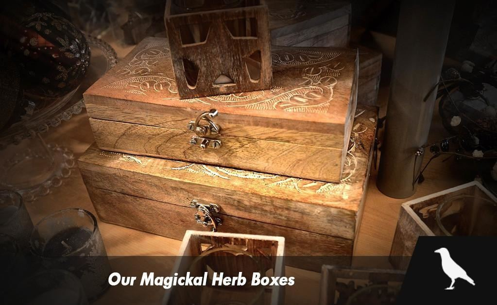 Our Magickal Herb Boxes