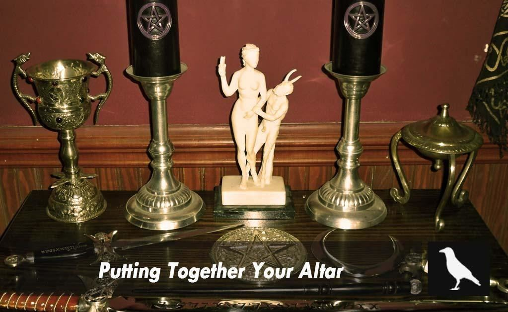 Putting Together Your Altar - The Moonlight Shop