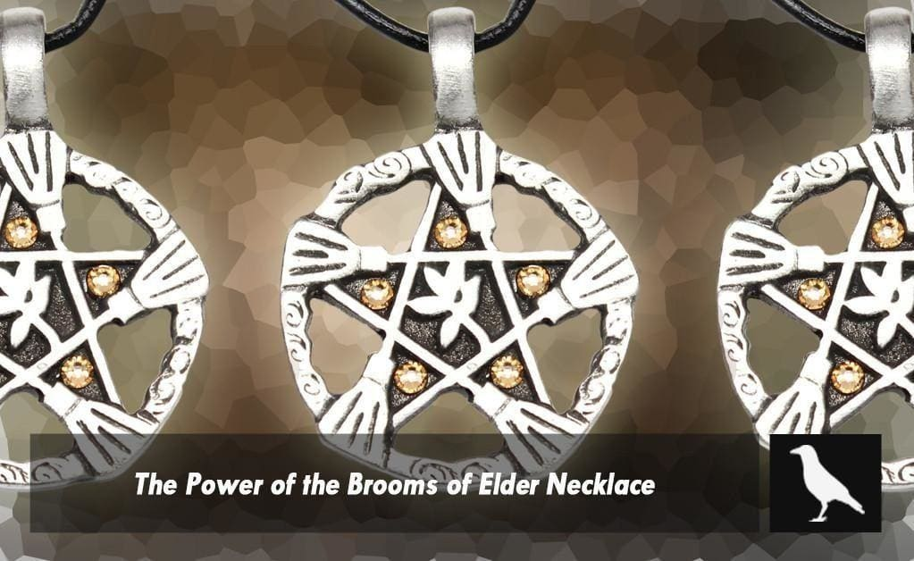 The Power Of The Brooms Of Elder Necklace