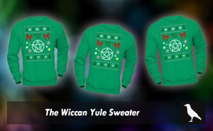 The Wiccan Yule Sweater