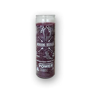 7 Day Purple Uncrossing Candle For Removing Hexes And Curses - The Moonlight Shop