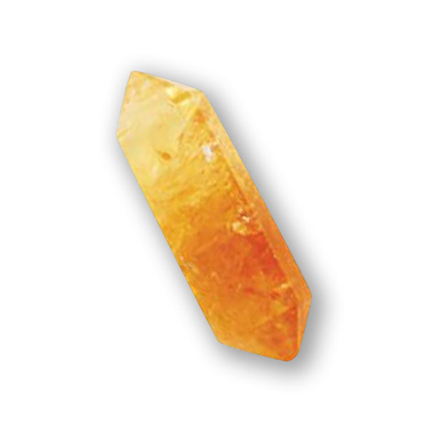 Double Terminated Citrine Crystal Of Manifestation