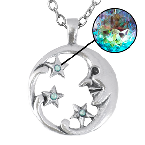 Moon Goddess with Stars Necklace * SPECIAL OFFER *