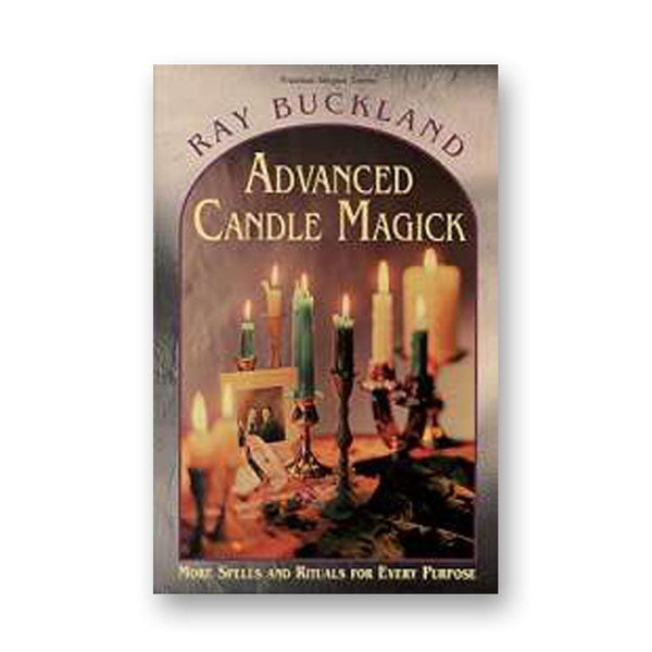 Advanced Candle Magick By Raymond Buckland - The Moonlight Shop