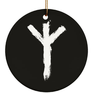 Algiz Rune Ornament - The Moonlight Shop
