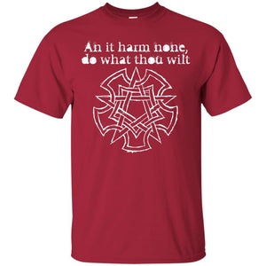 An It Harm None Unisex T-Shirt - The Moonlight Shop