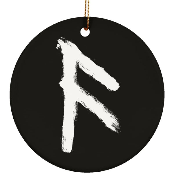 Ansuz Rune Ornament - The Moonlight Shop