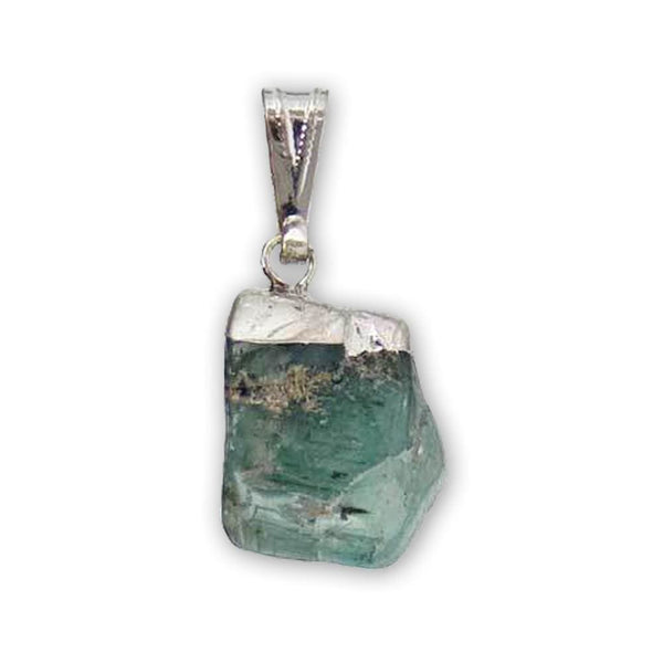 Aquamarine Throat Chakra Rescue Pendant - The Moonlight Shop