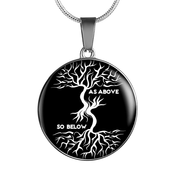 As Above So Below Luxury Necklace - The Moonlight Shop