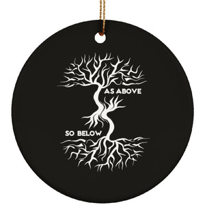 As Above So Below Ornament - The Moonlight Shop