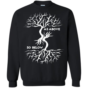 As Above So Below Shirt - The Moonlight Shop