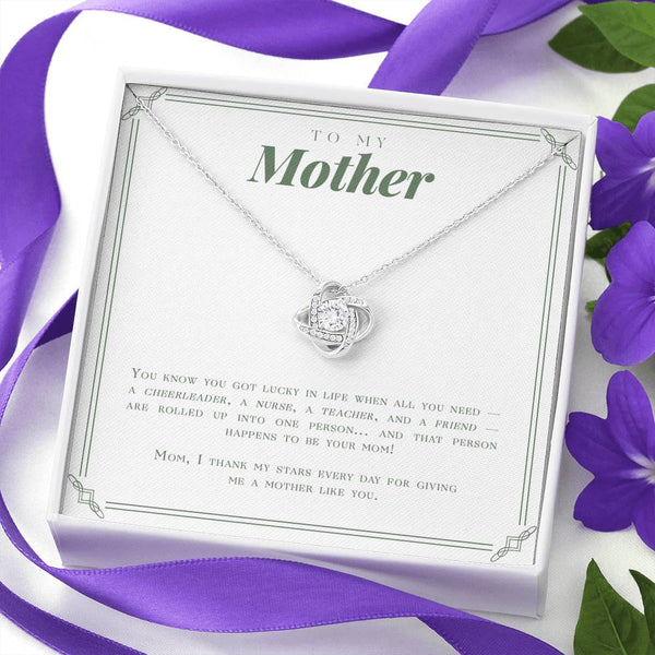 To My Mother - Lucky In Life Necklace