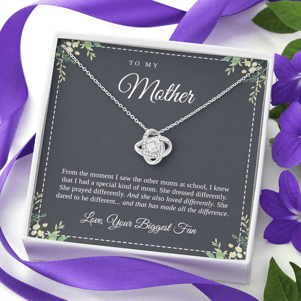 From the moment I saw the other moms necklace with card