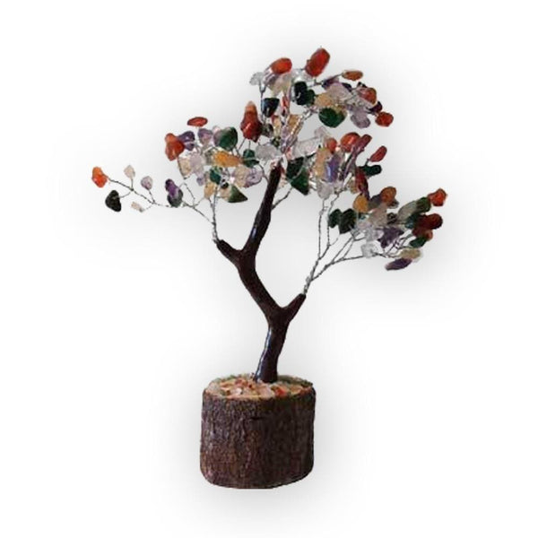 Assorted Agate Gemstone Tree Of Protection And Creativity - The Moonlight Shop