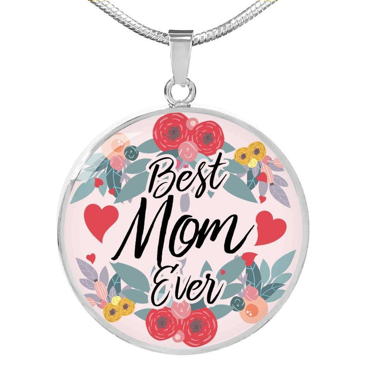 Best Mom Ever Luxury Necklace - The Moonlight Shop
