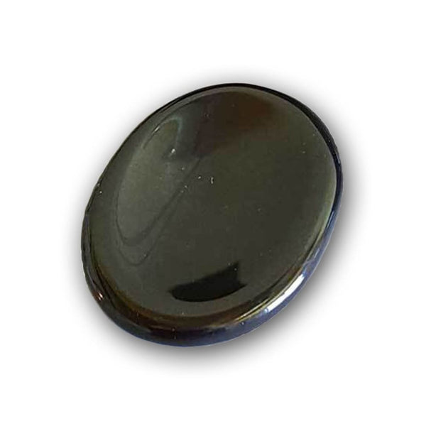 Black Agate Worry-Banishing Stone - The Moonlight Shop