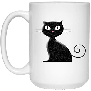 Black Cat Mug - The Moonlight Shop