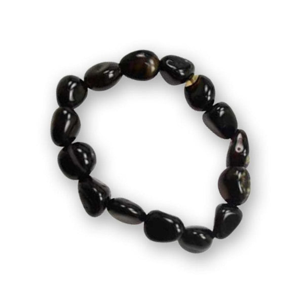 Black Tourmaline Talisman Bracelet - The Moonlight Shop