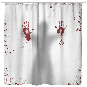 Bloody Hands Shower Curtain - The Moonlight Shop