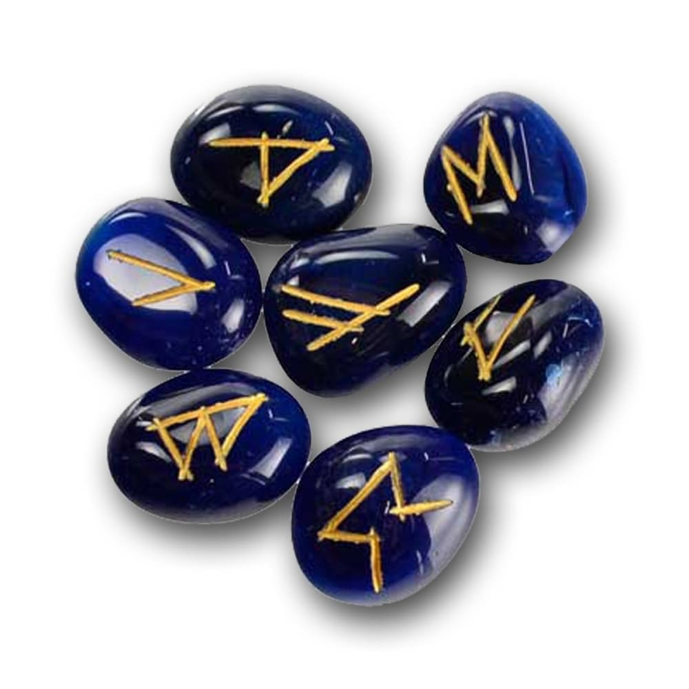 Blue Onyx Emotion-Balancing Runestones