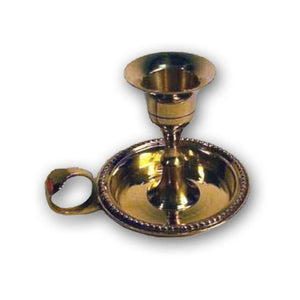 Brass Candle Holder For Money Rituals - The Moonlight Shop