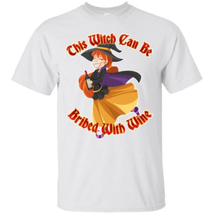 Bribe Me With Wine Shirt - The Moonlight Shop