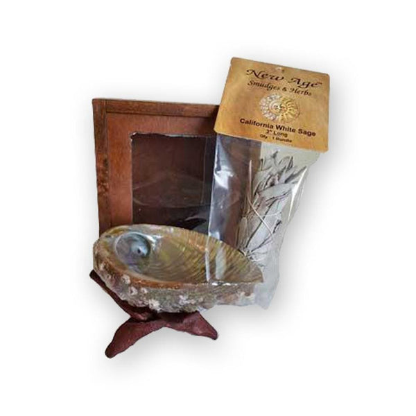 California Sage Smudging Kit - The Moonlight Shop
