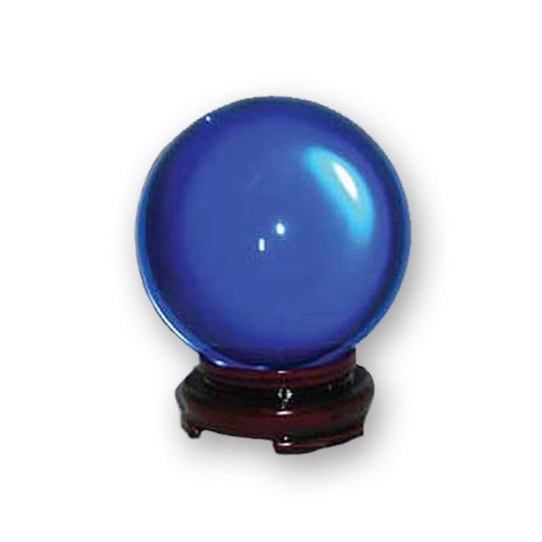 Calming Blue Crystal Ball - The Moonlight Shop