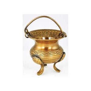 Celtic Brass Cauldron - The Moonlight Shop